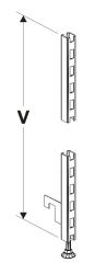 Přední stojiny RR 30 x 30 mm