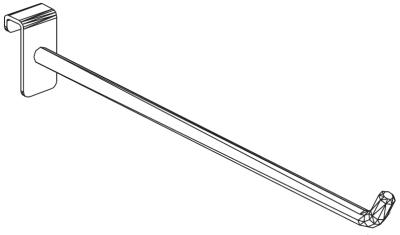 Rameno jednoduché 500 mm