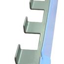 Háček univerzální 44x25x8 mm var. 3