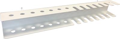 Držák šroubováků a klíčů do děrovaných panelů
