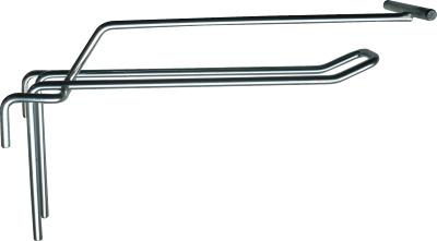 Dvojháček do sítí 150 mm s hrazdou