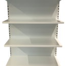Jednostranný regál 2100 mm - plné zadní panely