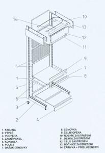 Jednotlivé prvky SU5